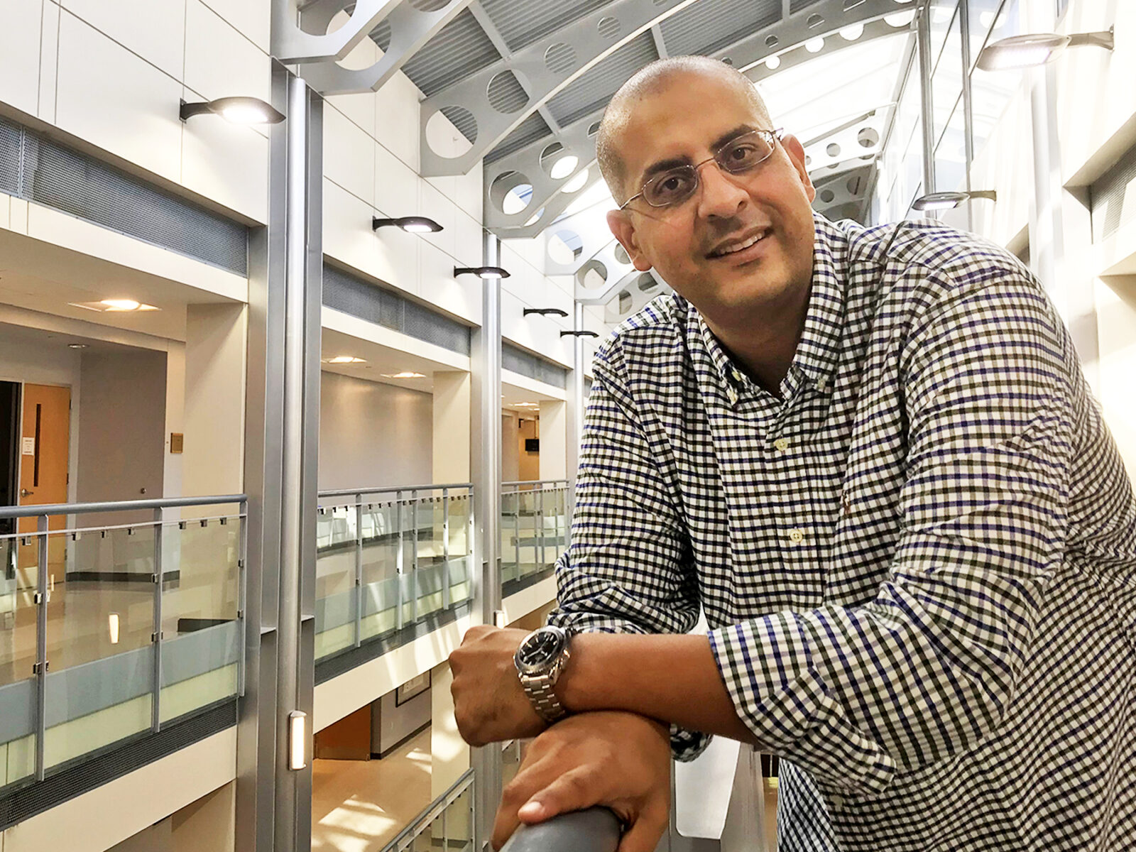 Portrait of Dr. Islam El-adaway at Butler-Carlton Hall