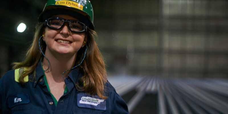 Dyhouse forges career in steel