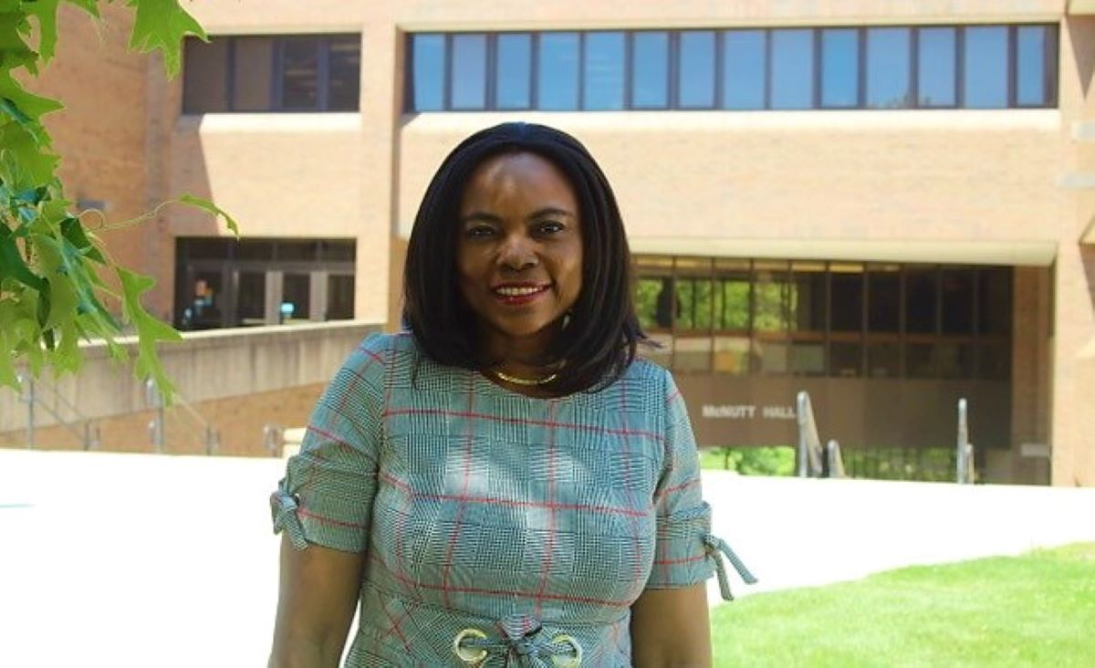Photo of Dr. Oboh-Ikuenobe on S&T campus