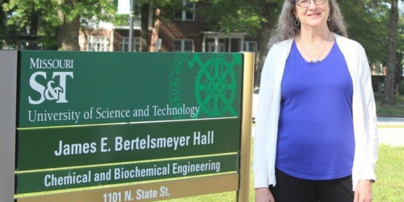 Missouri S&T professor elected fellow of American Institute of Chemical Engineers