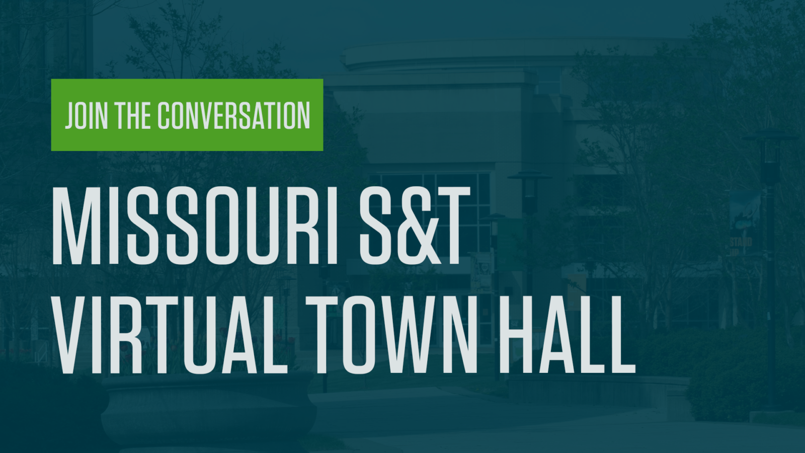 Missouri S&T virtual town hall