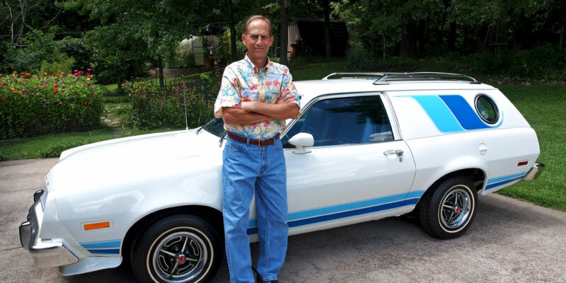 Driving his Pinto into retirement