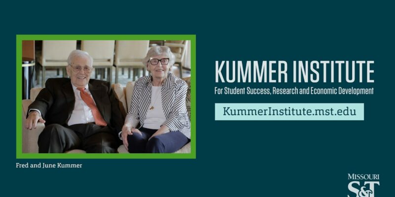 Kummer Institute establishes endowed department chair
