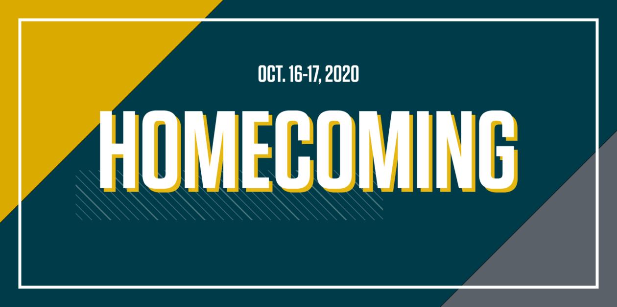 Homecoming Oct. 16-17, 2020