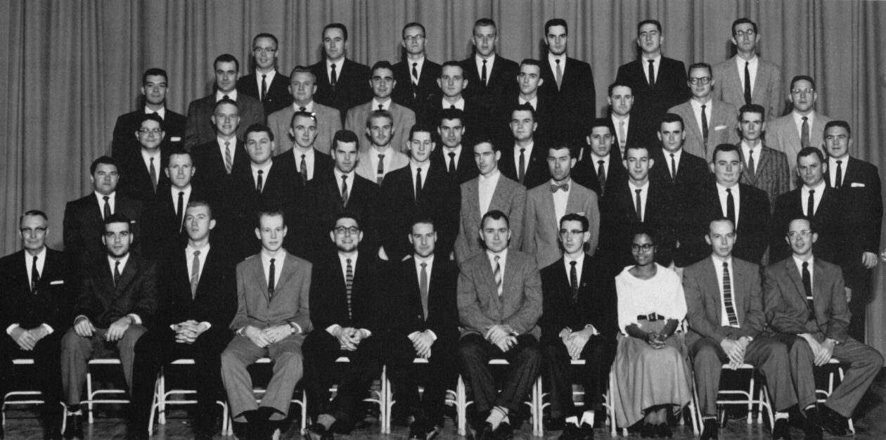 Image of Chi Epsilon chapter from 1960