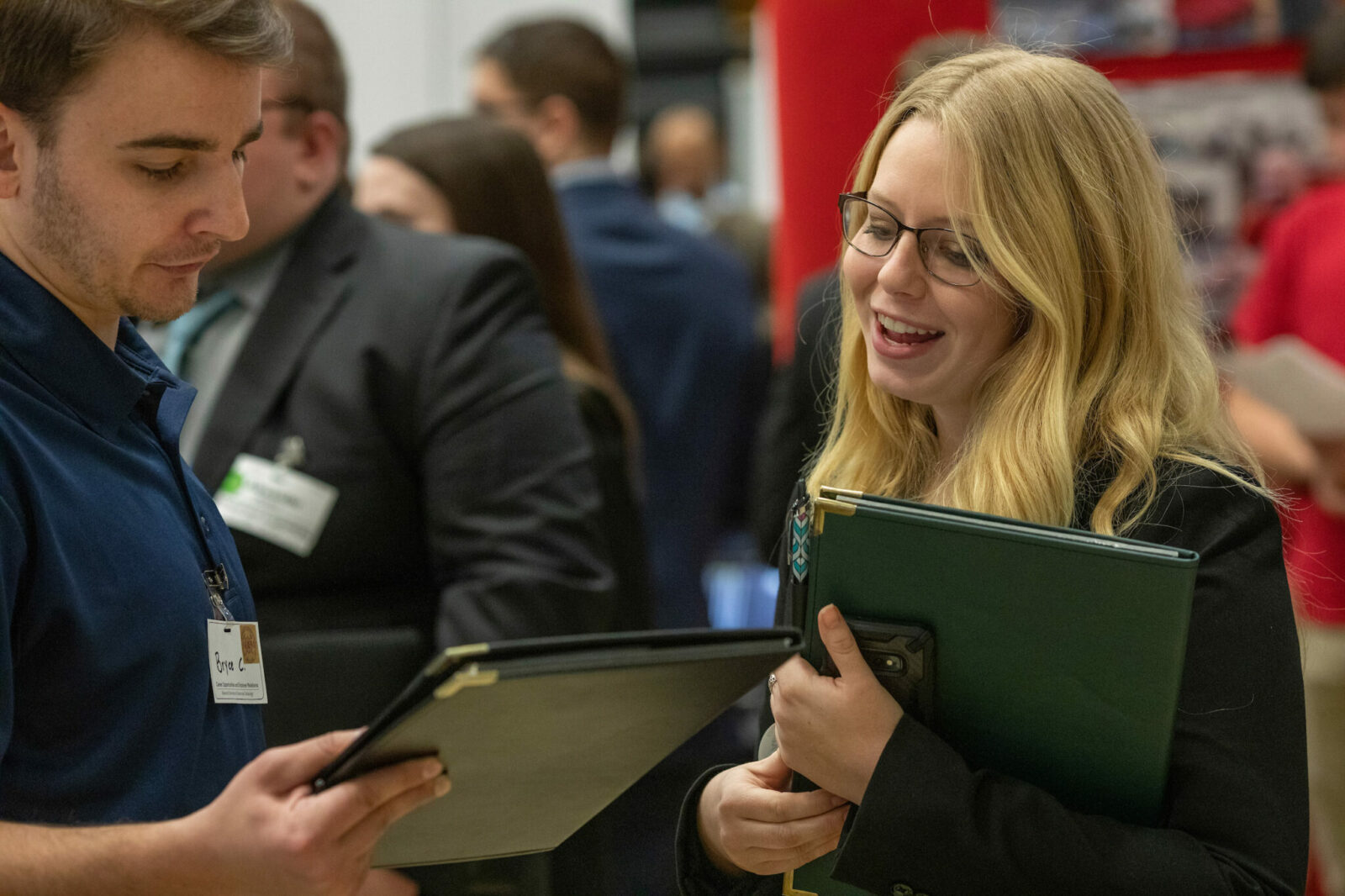 Missouri S&T's fall and spring career fairs attract employers from across the globe in search of talented students. Pictured: a scene from the February 2020 Career Fair. Photo by Tom Wagner/Missouri S&T.