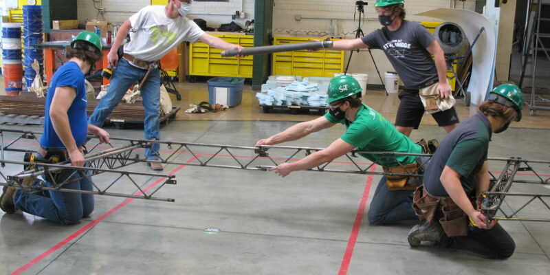 S&T's Steel Bridge team wins regional event, will compete at nationals