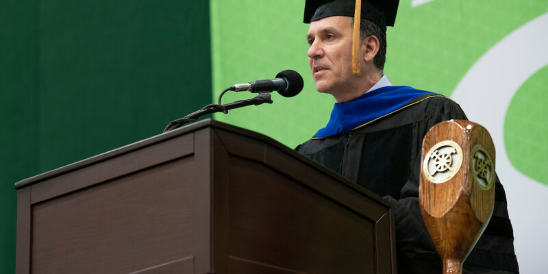 Missouri S&T commencement speaker tells graduates they can change the world