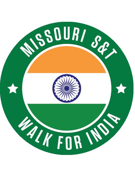 Missouri S&T Walk for India sticker