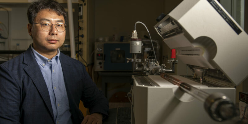 Missouri S&T researcher wins NSF CAREER Award for 2D metals research