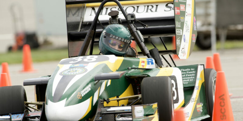 S&T's Formula SAE team finishes third overall in international competition