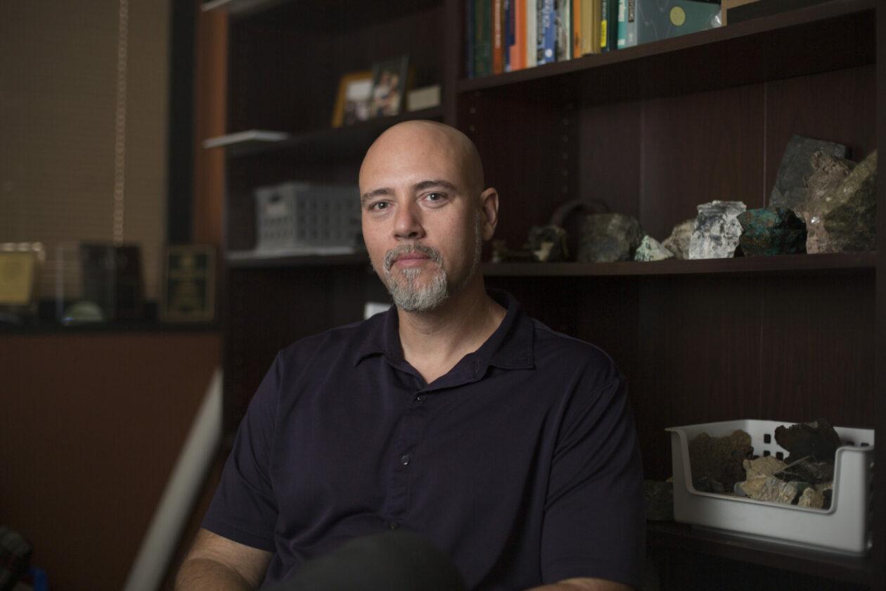 Dr. David Borrok in his office