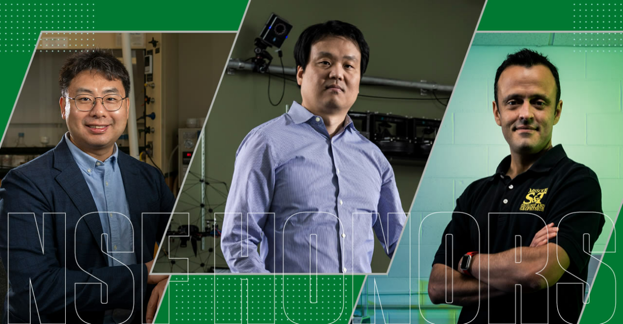 Photo of Dr. Wu, Dr. Song and Dr. Obrist-Farner,
