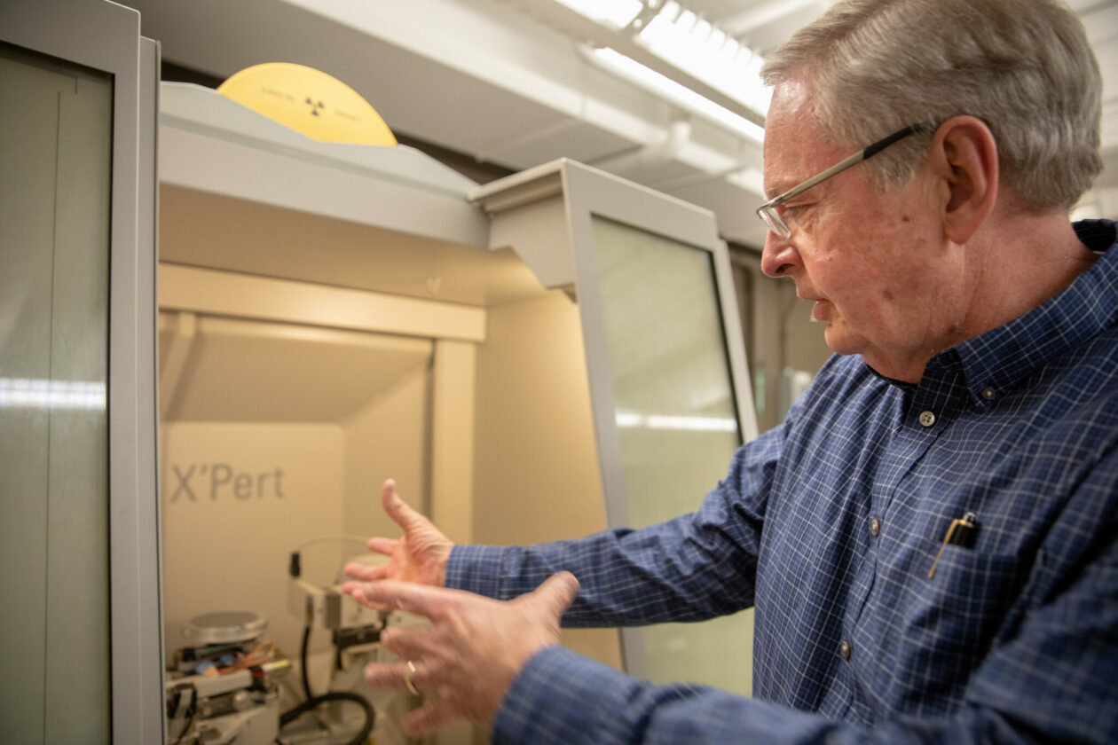 Dr. Jay A. Switzer, Chancellor's Professor and Curators' Distinguished Professor emeritus of chemistry chemistry at Missouri S&T.