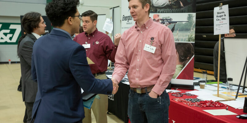 Record number of employer booths expected at Missouri S&T Career Fair